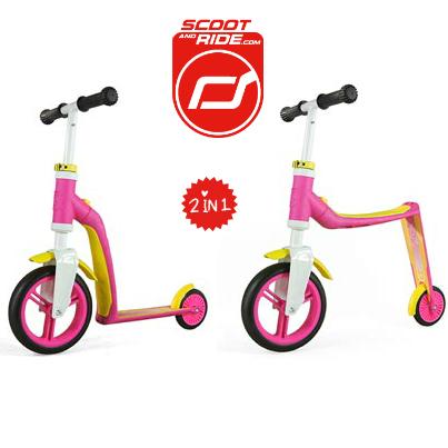 Recensie Scoot and Ride Highway Baby 2 in 1