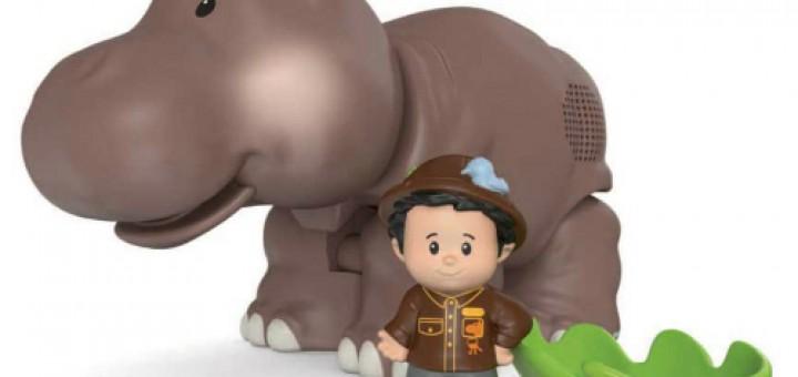 Recensie Little People Grote Dierenset Nijlpaard