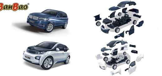 BanBao BMW speelgoedauto's