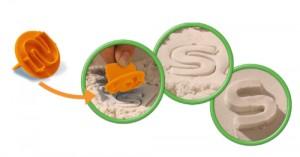 Recensie Super Sand Suitcase ABC van Goliath Games