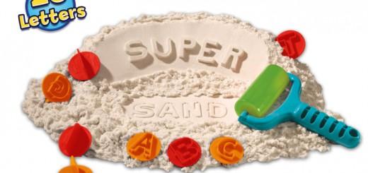 Recensie Super Sand Suitcase ABC Letters