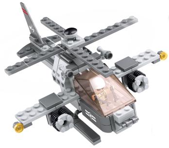 Recensie Sluban Gevechtshelikopter 3-in-1