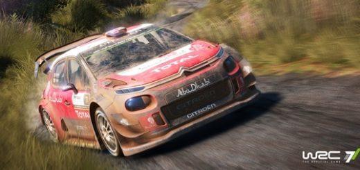 WRC 7 Screenshot