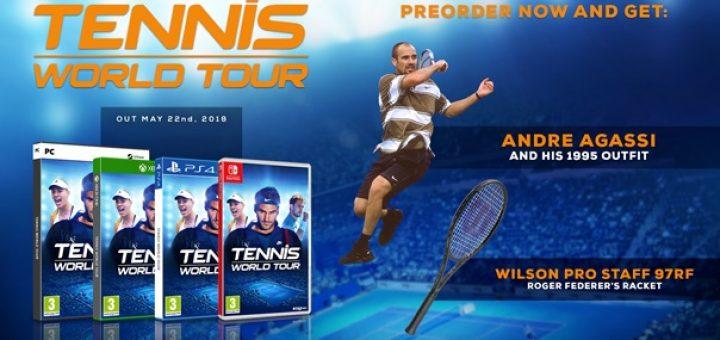 Tennis World Tour Legends Edition 2018