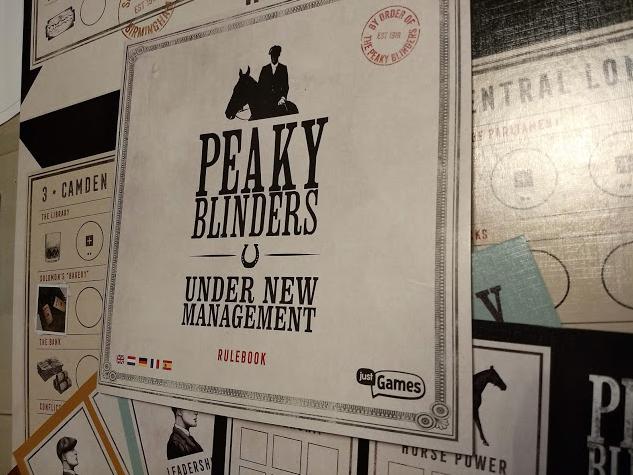Recensie Bordspel Peaky Blinders - Under New Management van Just Games