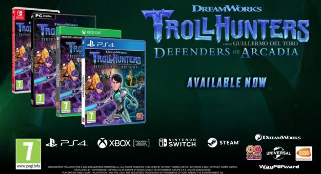 Recensie Dreamworks TrollHunters Defenders of Arcadia